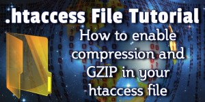 htaccess for compression